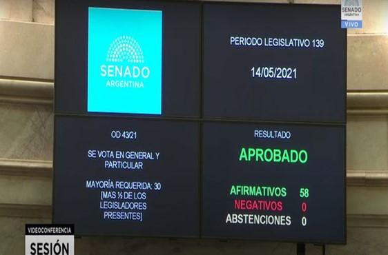 El Senado aprobó por unanimidad la ley de educación ambiental